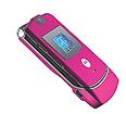 Pink Motorola RAZR V3