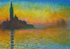 San Giorgio Maggiore at Dusk (1908), Claude Monet