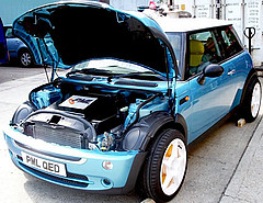 Electric Mini Cooper